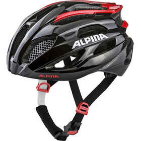Alpina Fedaia Casco, black-red